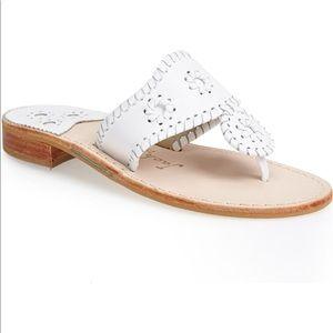 White Jack Roger sandal